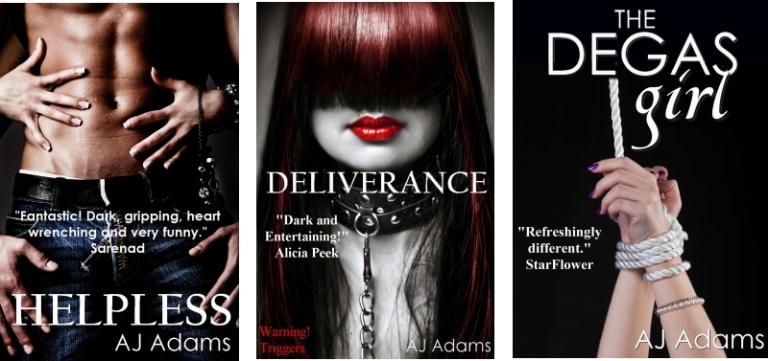 Other AJ Adams novels